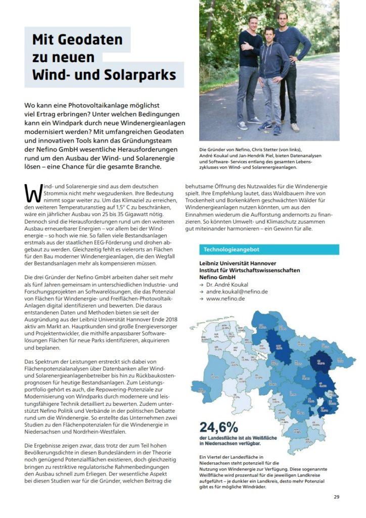 Der Nefino-Artikel im Ti!-Magazin